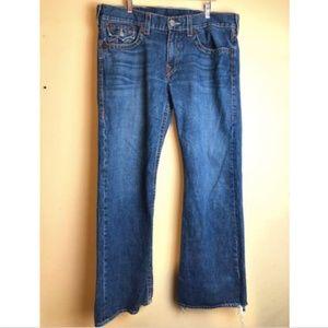 TRUE RELIGION Billy Big T Flap Pocket Jeans 38x33